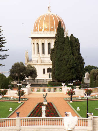 The bahai temple Stock Photo - 13621513