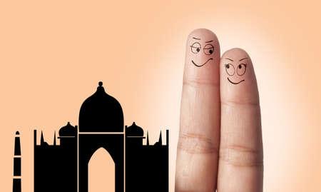 suitor: Una coppia da sogno dito per viaggiare in India