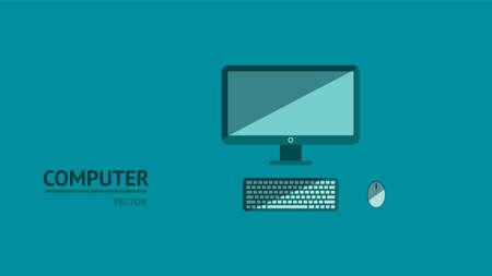 Computer Background vector eps10