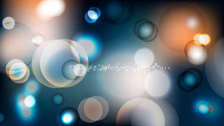 Bokeh abstract background vector