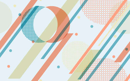 Geometric abstract background vector Illustration