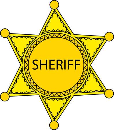 Sheriff star.