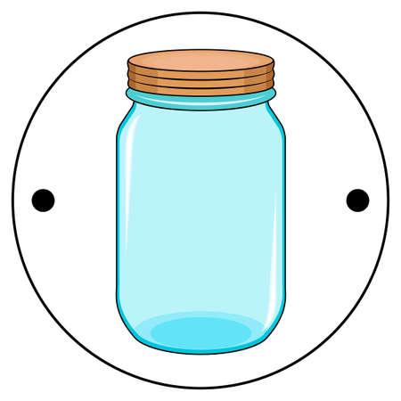 Thaumatrope의 두 번째 측면, 오렌지 뚜껑, 19 세기의 옛 살아 움직이는듯한 광학 장난감, 파란 항아리, taumatrop, 절연, 흰색 배경 스톡 콘텐츠 - 93045679
