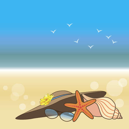 seashore Stock Vector - 15789176