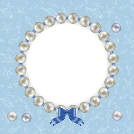 sea blue pearls