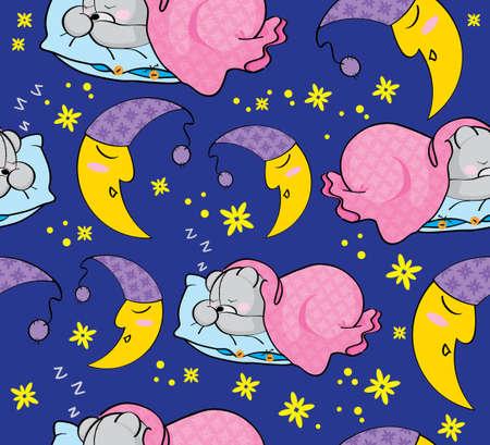 lullaby: textura de un sue�o Vectores