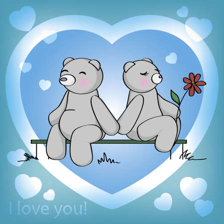 I love you  Illustration