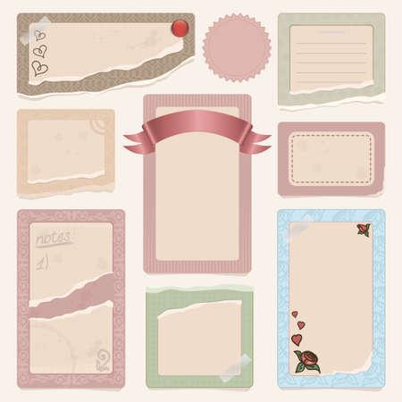 set of frames Illustration