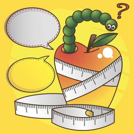 Illustration diet Illustration