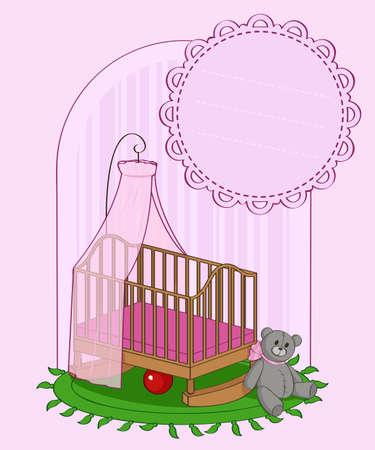 nursery girls Illustration