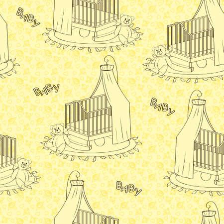 Yellow children s texture