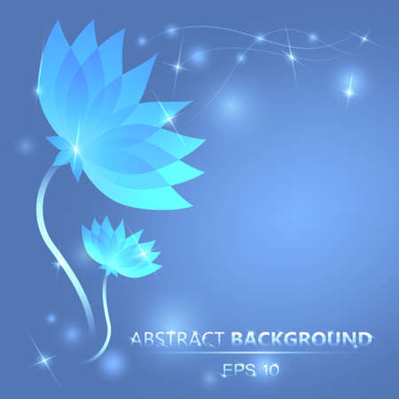 abstract flower Stock Vector - 18711127