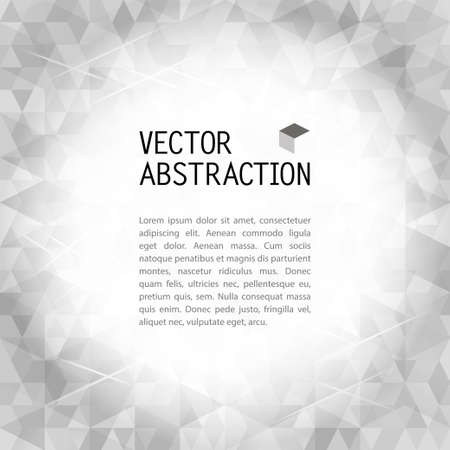 Vector pattern of simple geometrical shapes Vector
