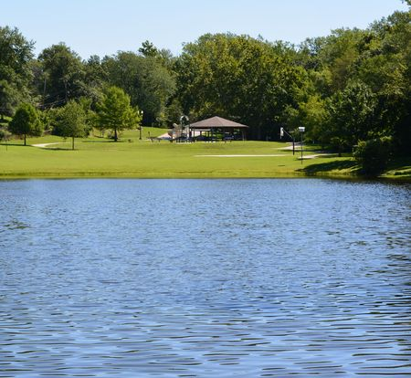 Local park with lake