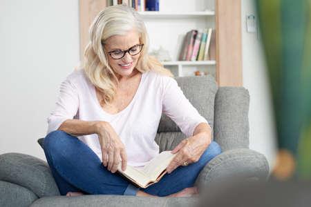 middleaged: Enjoying a book
