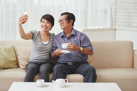 granddad: Selfie with granddad