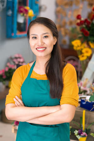 proprietor: Portrait of a successful small business owner Stock Photo
