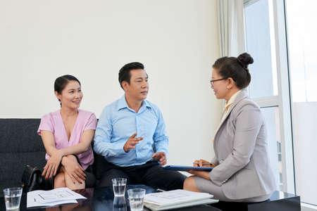 Meeting with broker