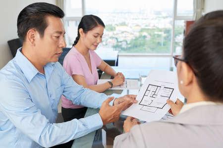 discutir plan de construcción