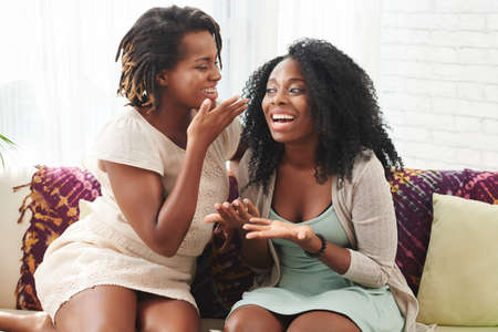 scandalous: Gossiping women