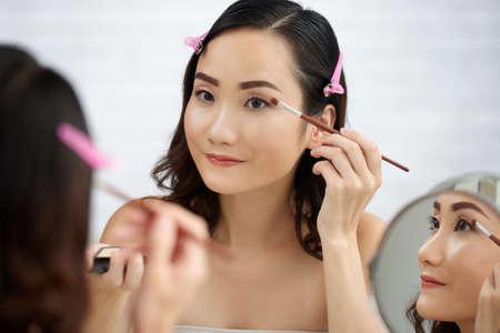 Eye make-up Stock Photo