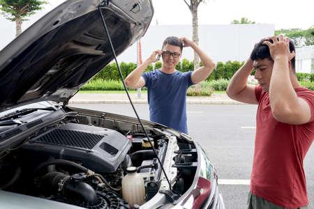 자동차 고장 스톡 콘텐츠