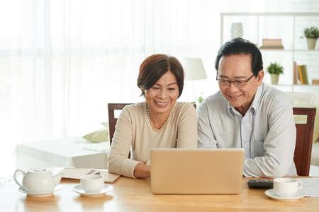 Home accounting Stockfoto