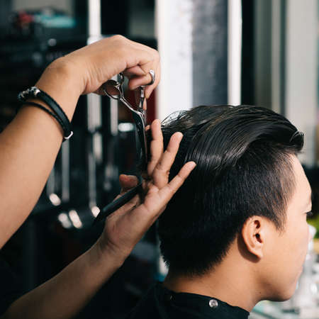 barbershop: Time for new haircut