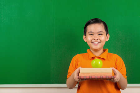 Ready for new school year Stock Photo