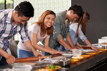 Atelier de pizza