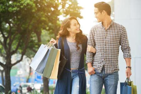 ショッピングの恋人