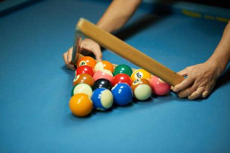 Racking up balls