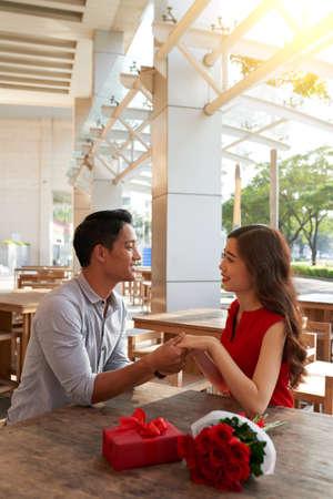 Adorable Asian couple
