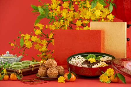 Traditional Tet food Foto de archivo