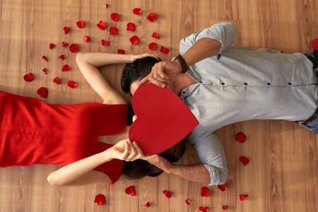 Expressing Love to Soulmate Stock Photo
