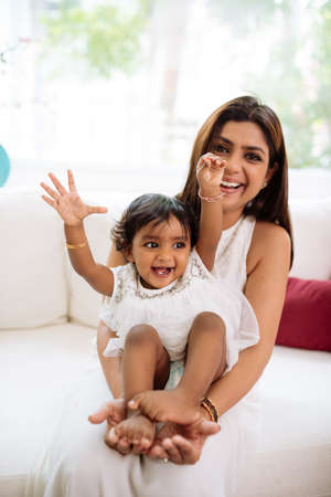 Indian Mother And Baby Stock Photos And Images - 123RF