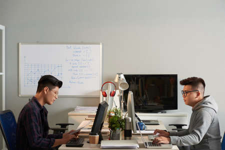 Asian Designers at Workplace