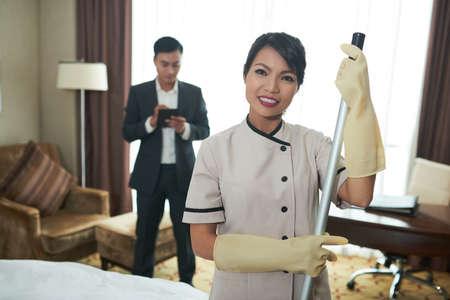 Cleaning service Standard-Bild