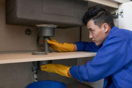 Repairing drain system