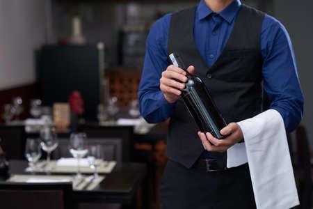 Offering good wine Zdjęcie Seryjne