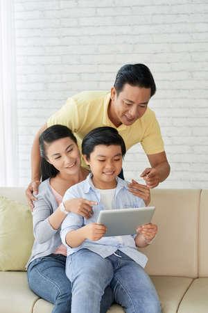 Enjoying Sunday with Parents