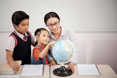 Aprendiendo geografía