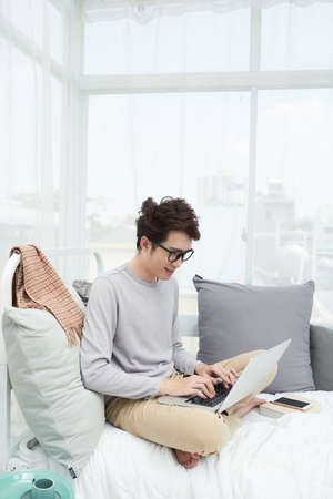 Freelancer working from homr