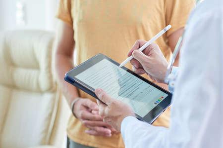 Filling medical card online