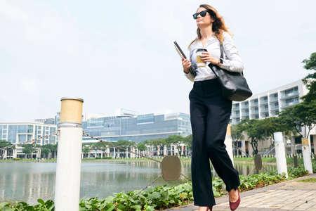Successful female entrepreneur Imagens