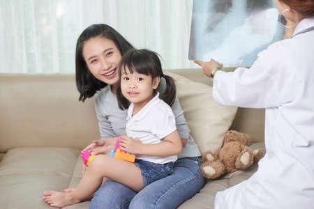 Visiting pediatrician
