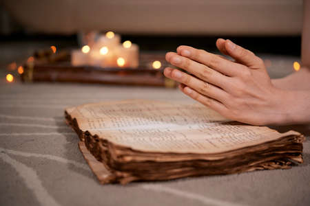 Praying for blessing