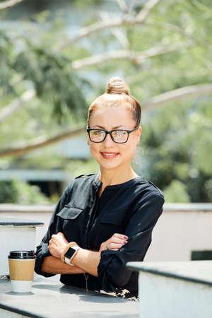 Confident female entrepreneur Imagens