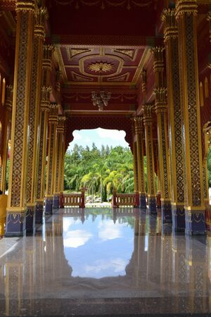 Bang Pa-In Aisawan Thipya-Art  Divine Seat of Personal Freedom  at the Royal Summer Palace near Bangkok, Thailand