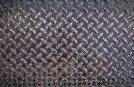 Aluminium dark list with rhombus shapes Stock Photo - 22083808
